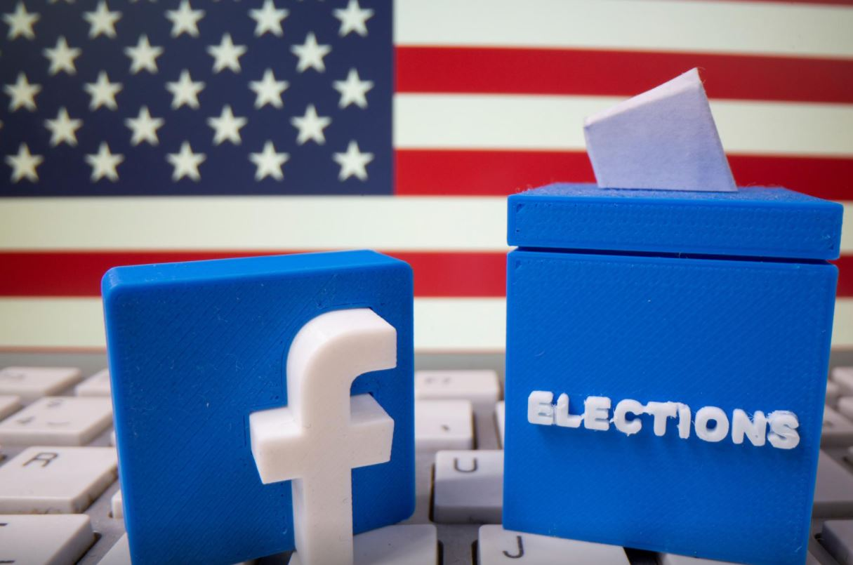 Facebook bans militarised calls for poll watching ahead of US elections