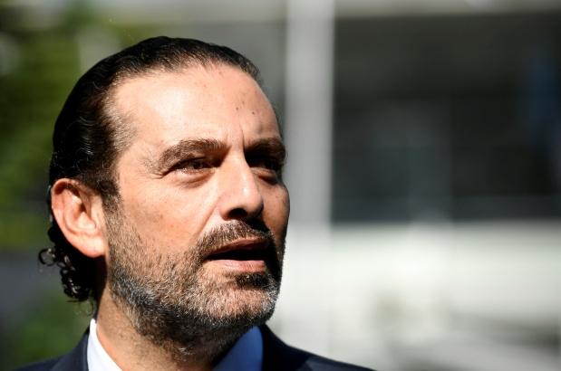 Lebanon's leader Hariri urges revival of French plan