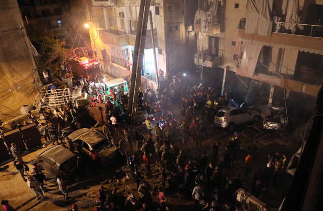 Four dead, several injured in Beirut fuel tank explosion