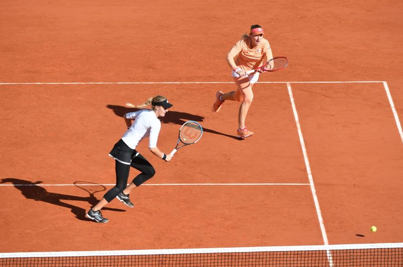 Babos and Mladenovic retain French Open women's doubles title