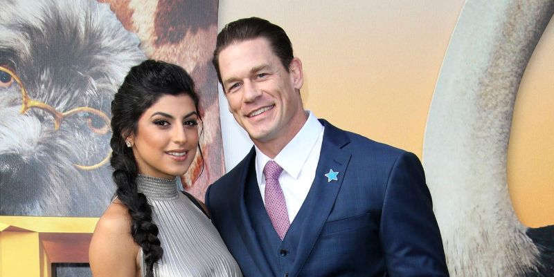 WWE Superstar John Cena marries girlfriend Shay Shariatzadeh