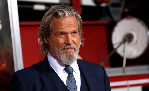 Academy-award winner Jeff Bridges diagnosed with lymphoma