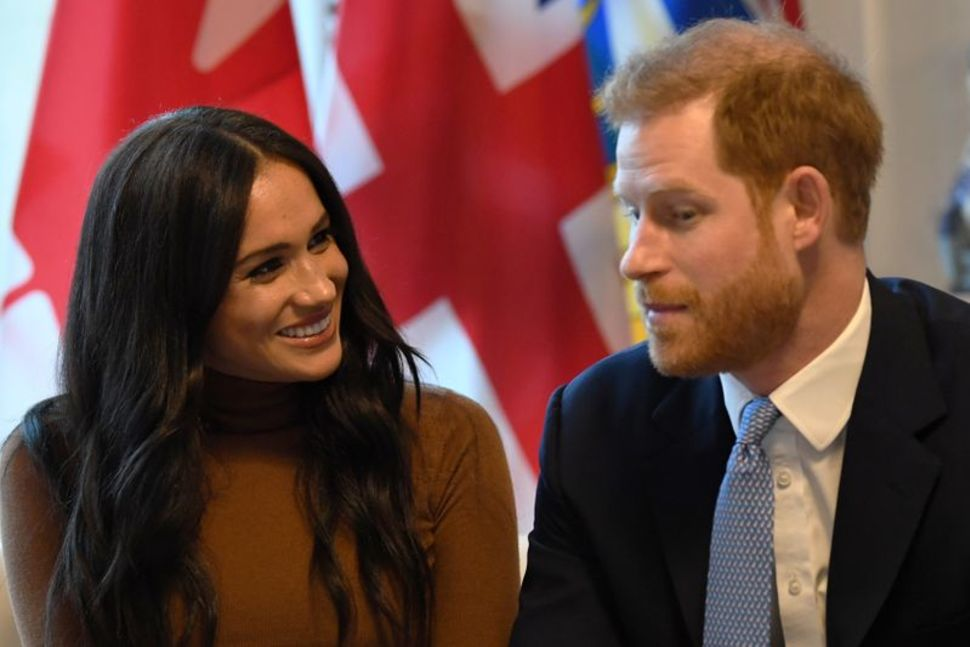 Harry and Meghan decry 'crisis of hate' in social media