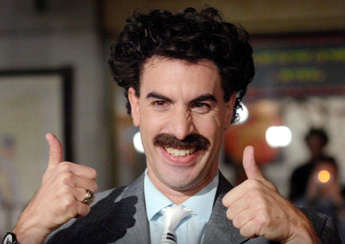 Borat bounces back just ahead of US elections