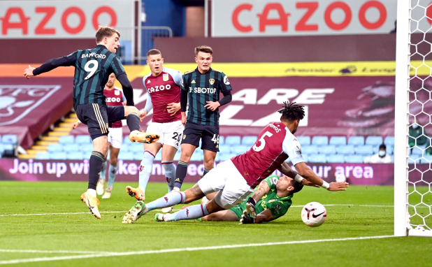 Premier League: Bamford hat-trick stuns Aston Villa