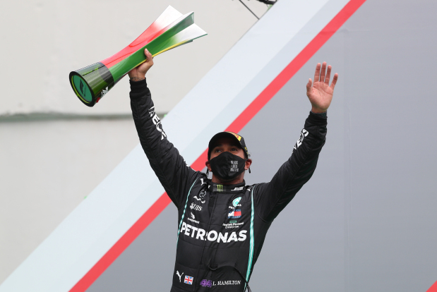 A record breaker! Hamilton overtakes Schumacher with 92nd win