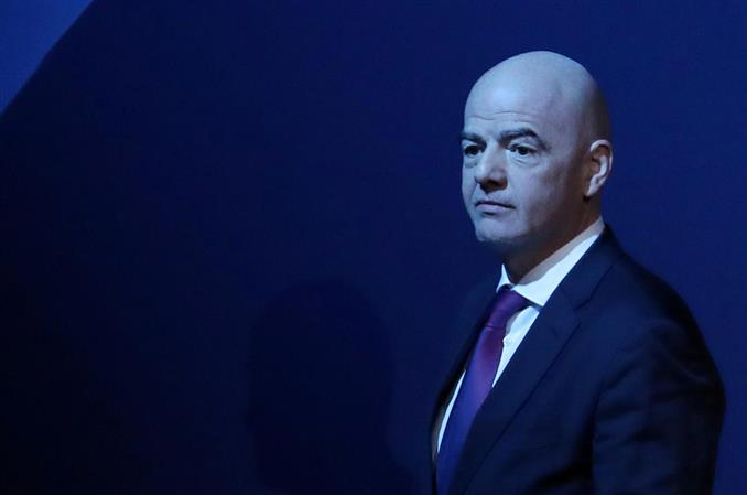 FIFA President Infantino test positive for Covid-19