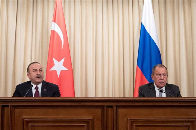 Russian, Turkish foreign ministers discuss Nagorno-Karabakh, Syria, Libya