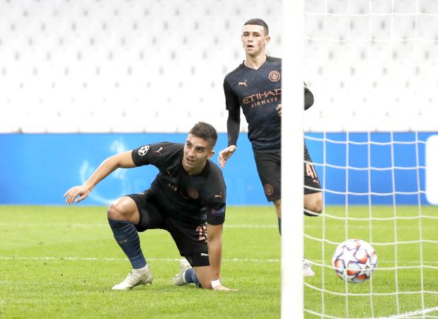 UEFA Champions League: Manchester City ease past Marseille