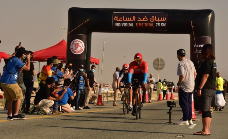 VIDEO: Shaikh Nasser bin Hamad Al-Khalifa triumphs in cycling race