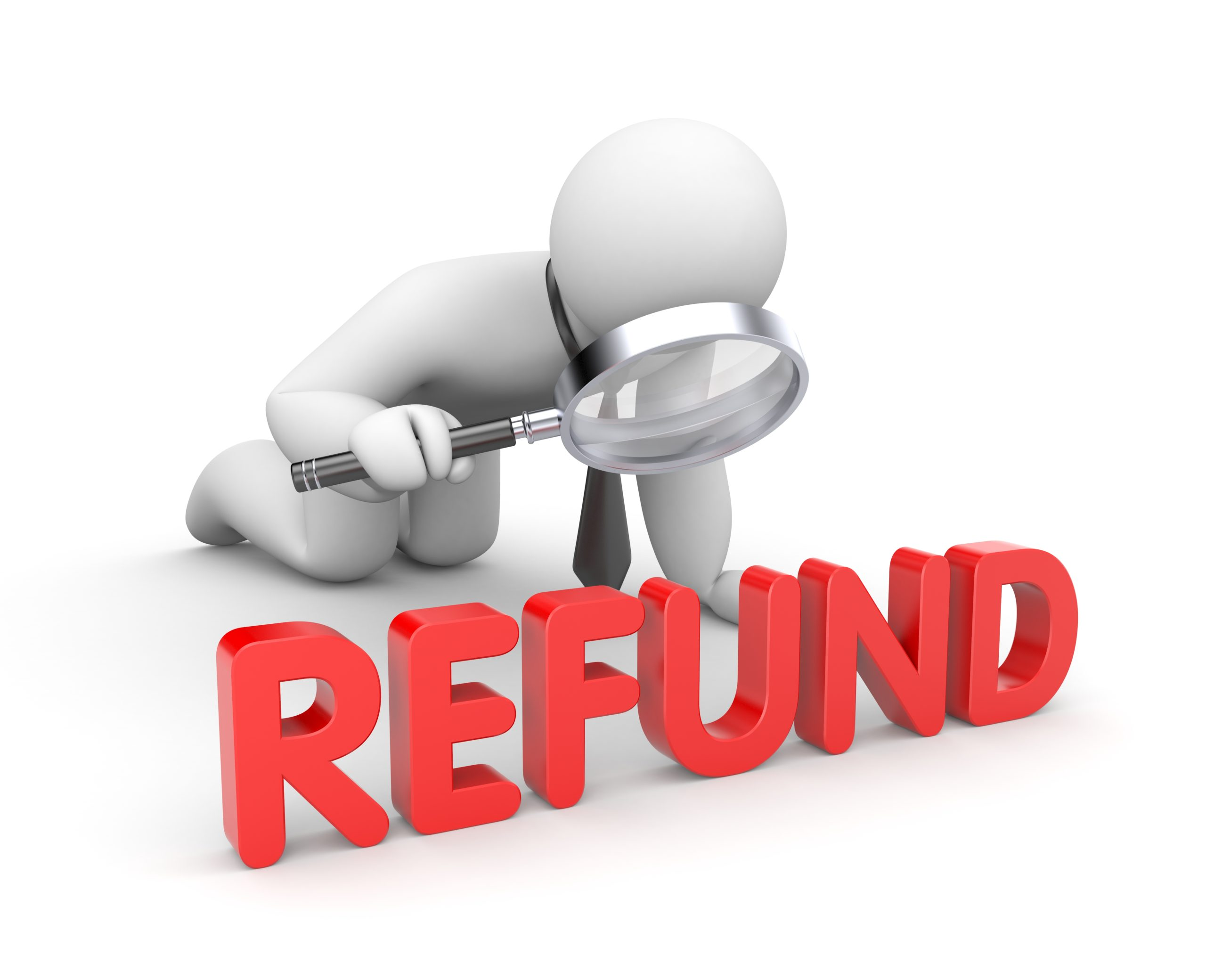 Check the status of your refund