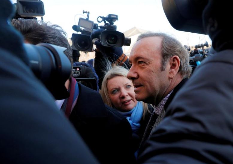 Kevin Spacey Posts Bizarre Christmas Video Following His #MeToo Cancelation