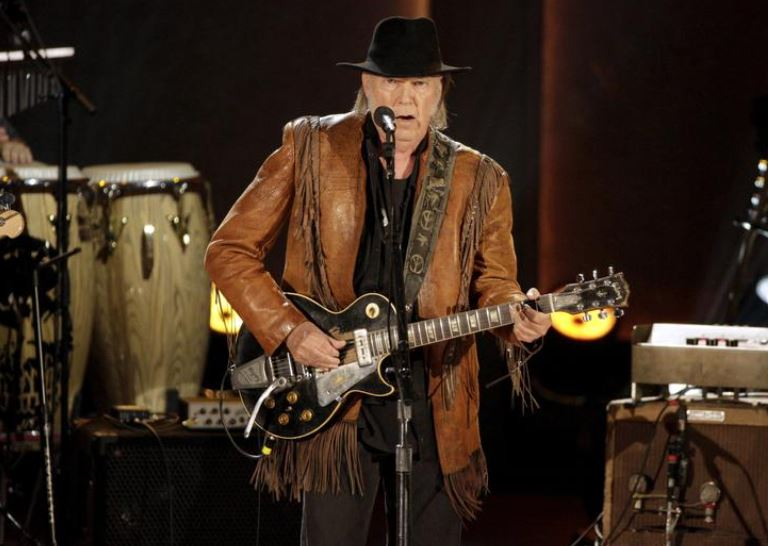 Neil Young sells 50% stake in his music
