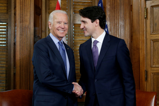 Coronavirus forces Biden to forgo pomp for US-Canada meeting