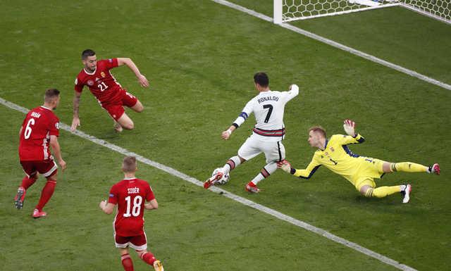 Ronaldo sets goal record